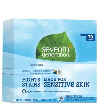 Seventh Generation Free & Clear Natural Laundry Detergent Powder