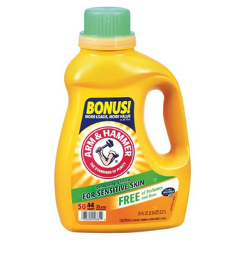 ARM & HAMMER™ 2X Concentrated Liquid Laundry Detergent for Sensitive Skin