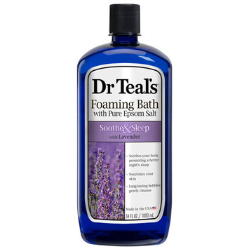 Dr Teal's® Soothe & Sleep Foaming Bath With Pure Epsom Salt