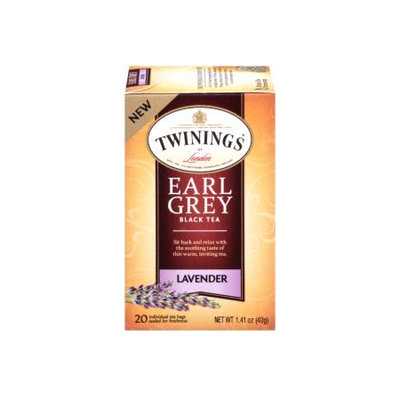 TWININGS® OF London Earl Grey - Lavender Tea Bags