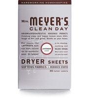 Mrs. Meyer's Clean Day Lavender Dryer Sheets