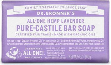 Dr. Bronner's All-One Hemp Lavender Pure - Castile Bar Soap