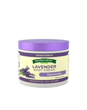 Nature's Truth Lavender Body Cream