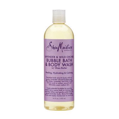 SheaMoisture Lavender & Wild Orchid Bubble Bath & Body Wash