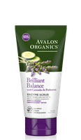 Avalon Organics Brilliant Balance With Lavender & Prebiotics Enzyme Scrub