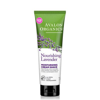 Avalon Organics Nourishing Lavender Moisturizing Cream Shave