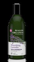 Avalon Organics Nourishing Lavender Bath & Shower Gel