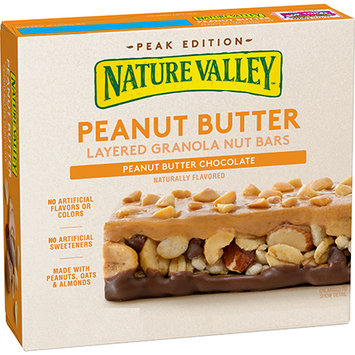 Nature Valley™ Peanut Butter Chocolate Layered Granola Nut Bars