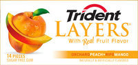 Trident Layers Orchard Peach + Ripe Mango