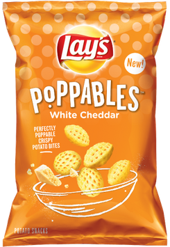LAY'S® Poppables White Cheddar Flavored Potato Snacks