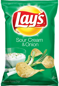 LAY'S® Sour Cream & Onion Flavored Potato Chips