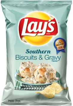 LAY'S® Southern Biscuits and Gravy Flavored Potato Chips