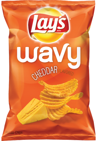 LAY'S® Wavy Cheddar Flavored Potato Chips
