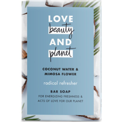 Love Beauty and Planet Coconut Water & Mimosa Flower Bar Soap
