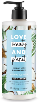 Love Beauty and Planet Coconut Water & Mimosa Flower Body Lotion