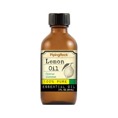 Piping Rock Lemon Essential Oil 2 fl oz 100% Pure Oil Therapeutic Grade