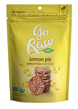 Go Raw Lemon Cookies