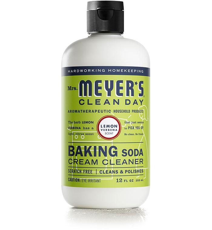 Mrs. Meyer's Clean Day Lemon Verbena Baking Soda Cream Cleaner