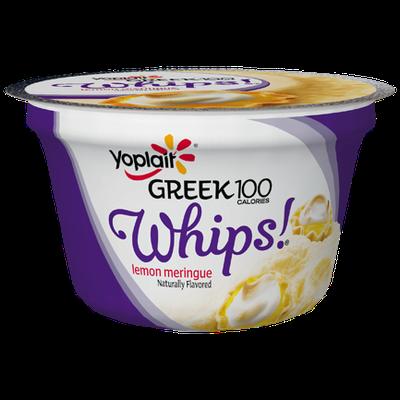 Yoplait® Greek 100 Whips!® Lemon Meringue Yogurt