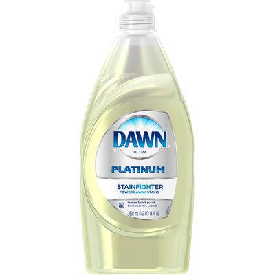 Dawn Platinum Stain Fighter Dishwashing Liquid Lemon Burst