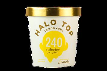 Halo Top Lemon Cake Ice Cream