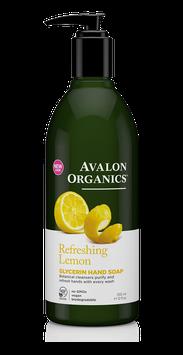 Avalon Organics Refreshing Lemon Glycerin Hand Soap