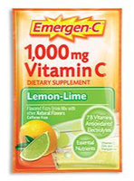 Emergen-C 1,000 mg Vitamin C Lemon-Lime