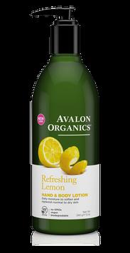 Avalon Organics Refreshing Lemon Hand & Body Lotion