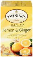 Twinings® Lemon & Ginger Herbal Tea