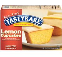 Tastykake® Lemon Limited Edition 2 Ct Cupcakes