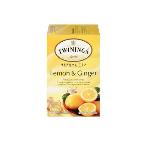 TWININGS® OF London Lemon & Ginger Tea Bags