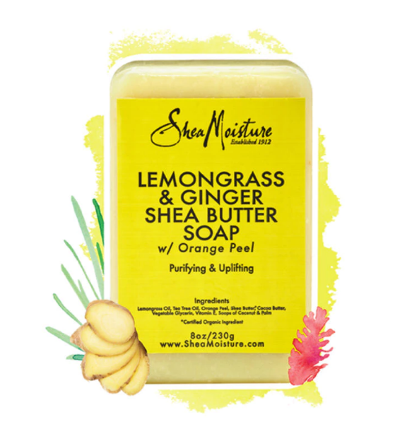 SheaMoisture Lemongrass & Ginger Shea Butter Soap