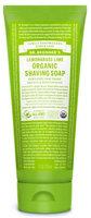 Dr. Bronner's Lemongrass Lime Organic Shaving Soap