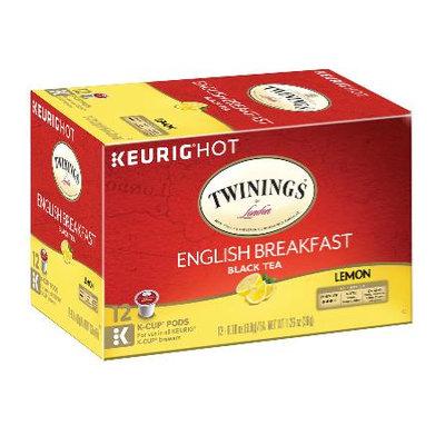 TWININGS® OF London English Breakfast Lemon K-Cup® Pods