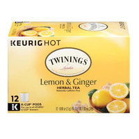 TWININGS® OF London Lemon & Ginger K-Cup® Pods