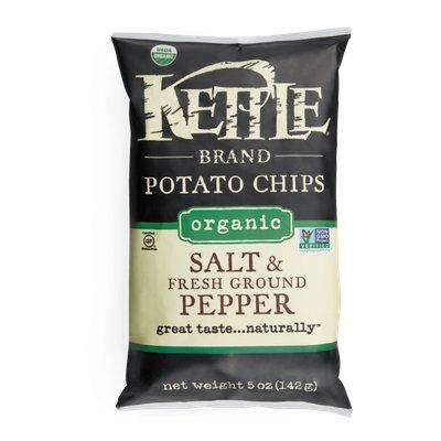 Kettle Brand® Salt & Fresh Ground Pepperv Organic Potato Chips