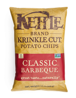 Kettle  Brand® Classic Barbeque Krinkle Cut™ Potato Chips