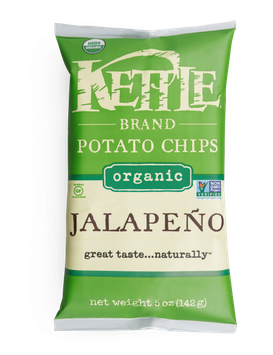 Kettle  Brand® Jalapeno Organic Potato Chips