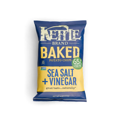 Kettle Brand® Baked Potato Chips Sea Salt &Vinger