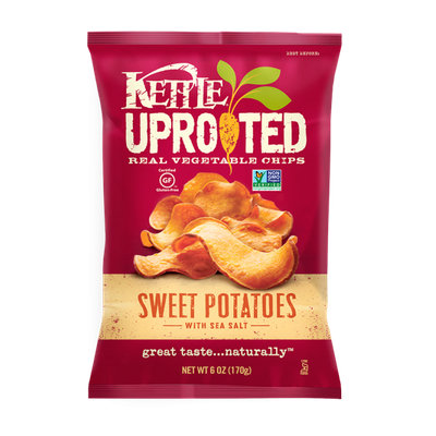 Kettle Brand® Uprooted Sweet Potatoes with Sea Salt Vegetable Chips