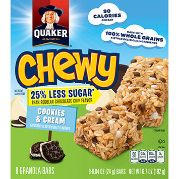 Quaker® Chewy Dipps Granola Bars Cookies And Cream