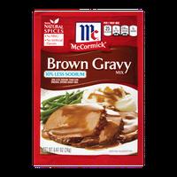McCormick® 30% Less Sodium Brown Gravy Mix