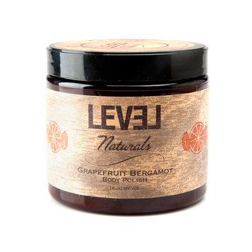 Level Naturals - Body Polish Grapefruit Bergamot - 16 oz.