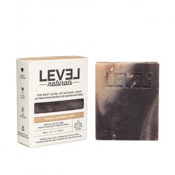 Level Naturals Vanilla Almond + Oats Soap