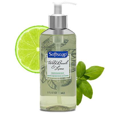 Softsoap® Wild Basil & Lime Liquid Hand Soap