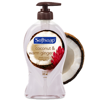 Softsoap® Coconut & Warm Ginger Liquid Hand Soap
