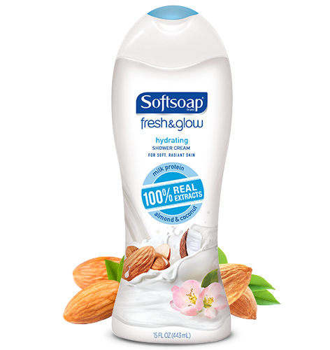 Softsoap® Fresh & Glow™ Hydrating Shower Cream
