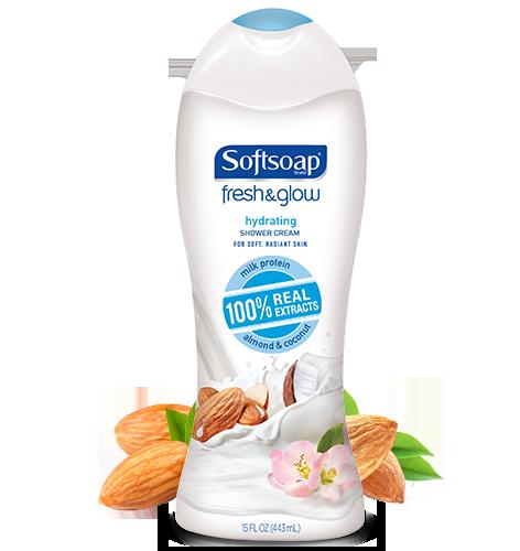 Softsoap® Fresh & Glow™ Hydrating Shower Cream