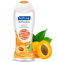 Softsoap® Fresh & Glow™ Exfoliating Fruit Polish