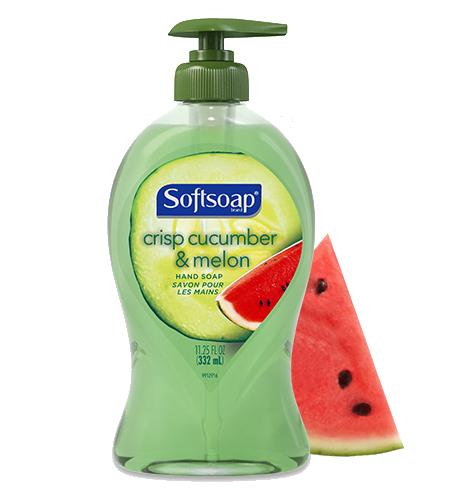Softsoap® Crisp Cucumber & Melon Liquid Hand Soap